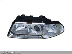 One piece headlamps