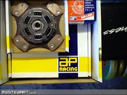AP Racing 4-paddle clutch