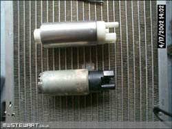 Cosworth grpA fuel pump
