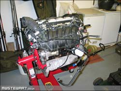 The engine as it started